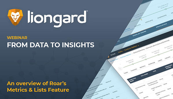 Webinar from data to insights